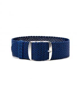 perlon watch strap blue