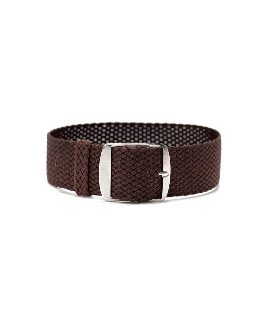 perlon watch strap brown