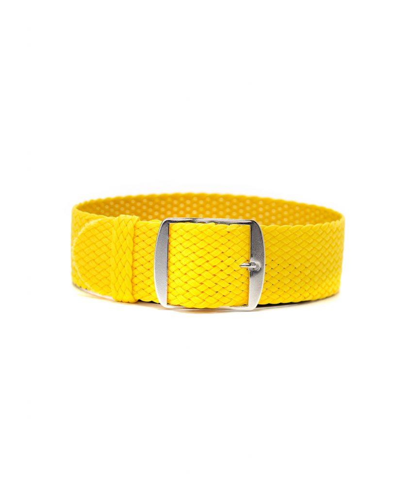 perlon watch strap yellow