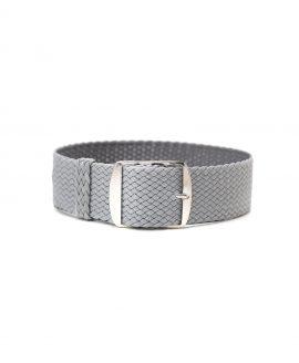 perlon watch strap grey