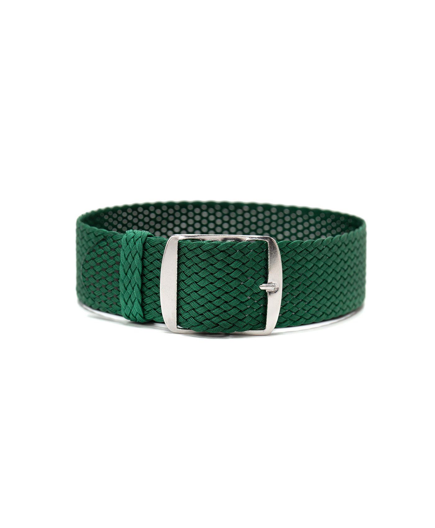 perlon watch strap green