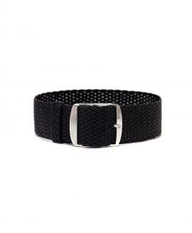 perlon watch strap black