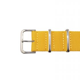 Nato-Strap-Yellow-Polished-22-mm