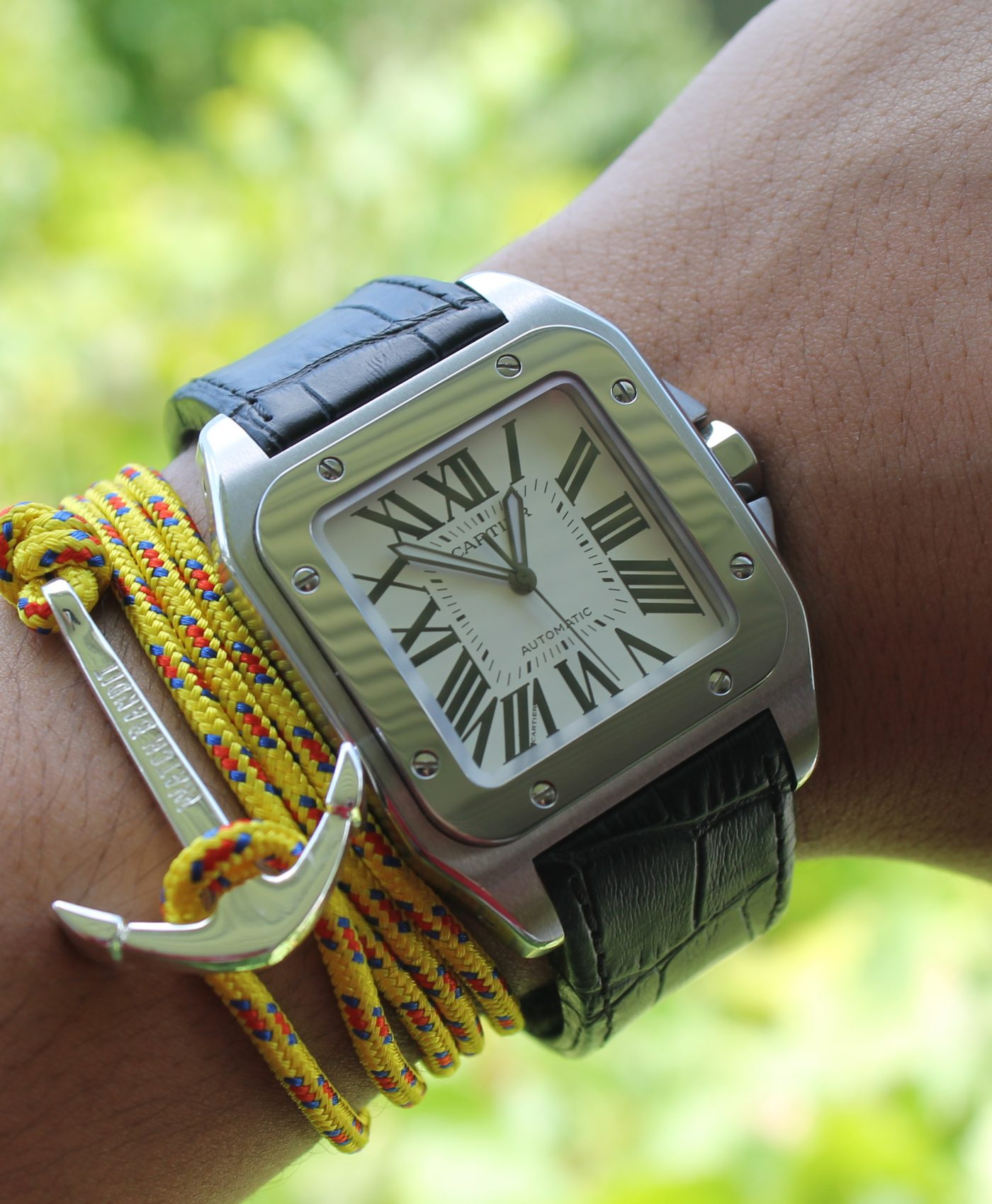 Cartier and anchor bracelet by abewd