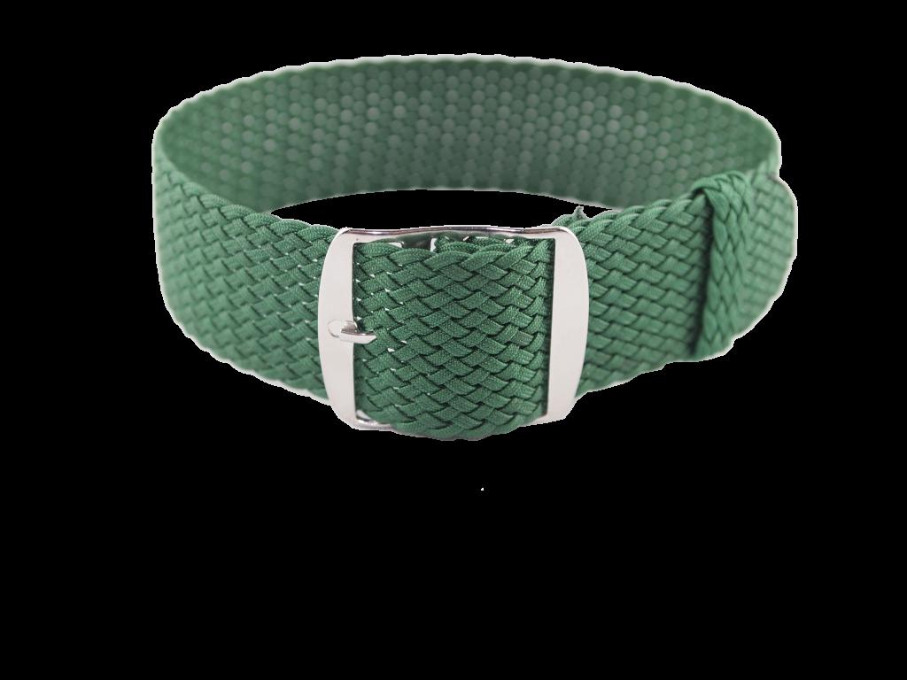 Green Perlon Strap
