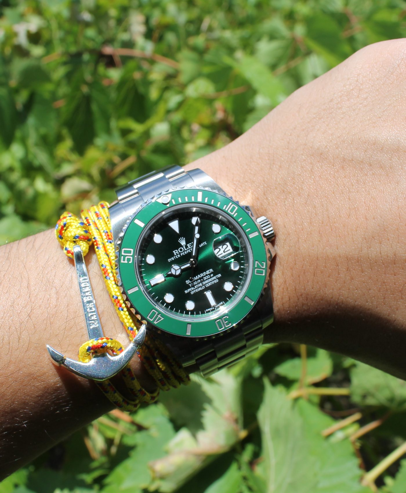 Rolex Submariner and anchor bracelet by abewd