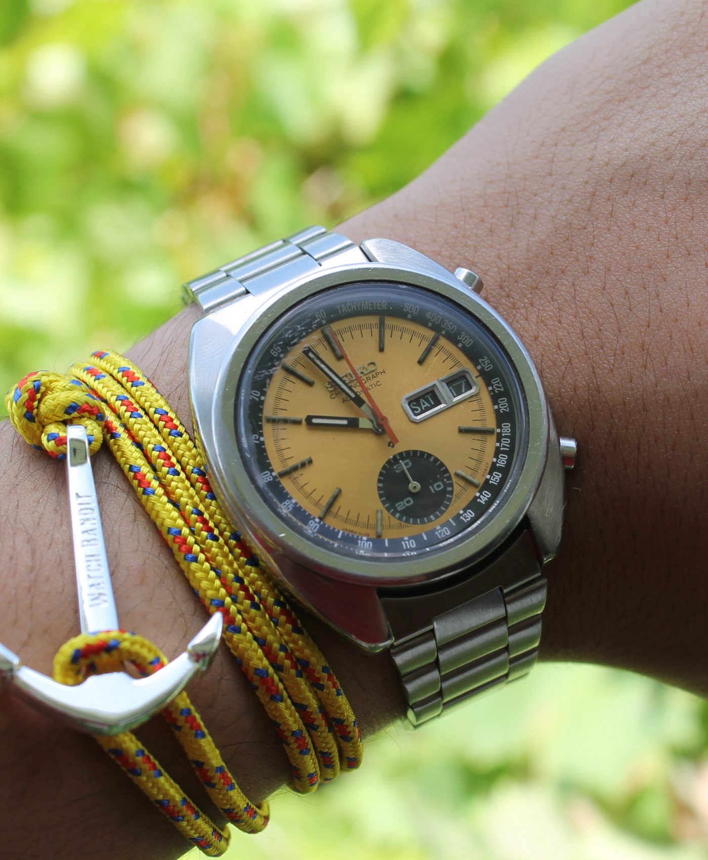 Seiko and anchor bracelet by abewd
