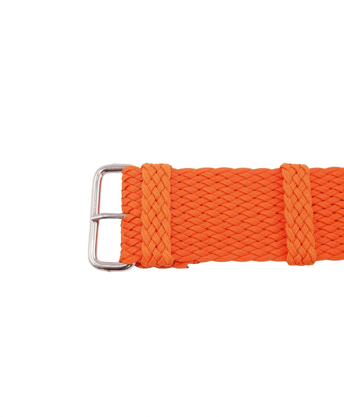 Perlon Strap   Orange   22mm