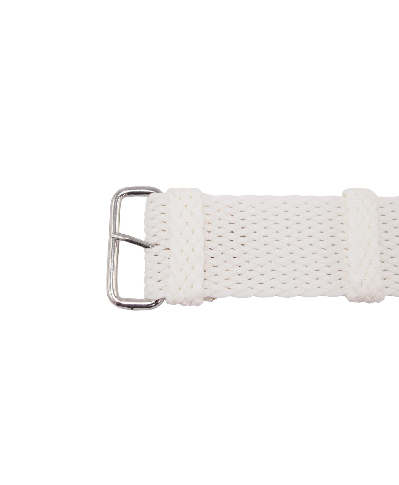 Perlon-Strap-White-22mm-WatchBandit