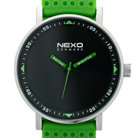 Nexo Watches_blackS_green