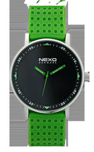 Nexo Watches_blackS_green