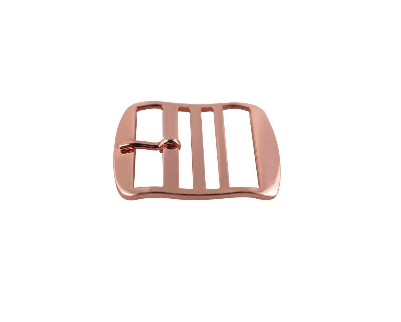 Premium Perlon Strap Buckle Rose Gold