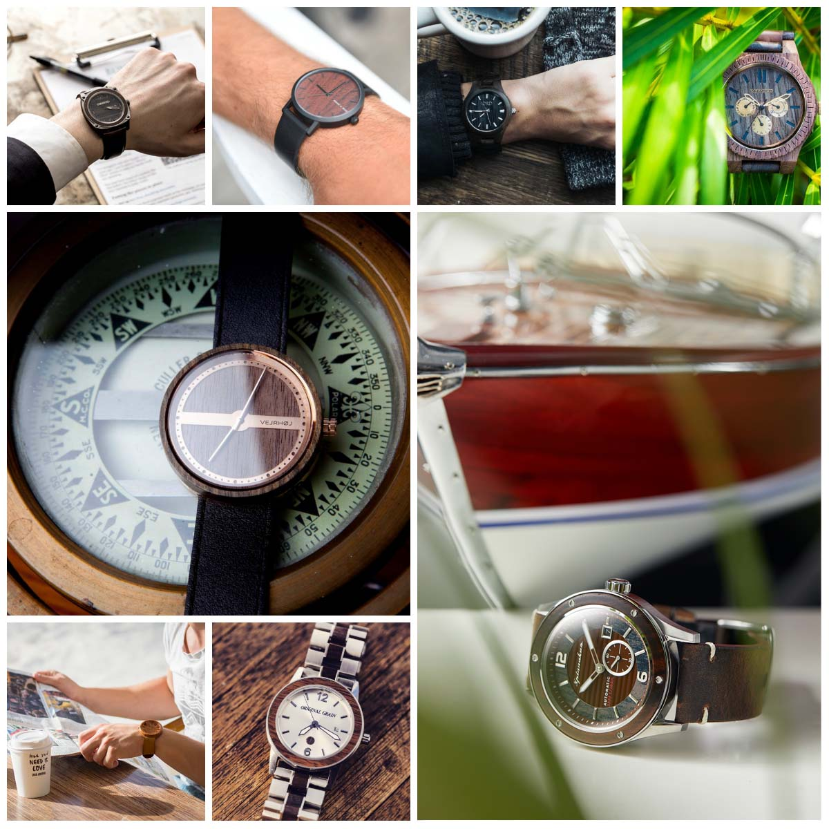 10 best wood watches collection by watchbandit