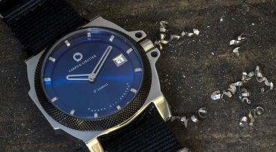 St-Luxeuil by Carzo & Lieutier watches blue