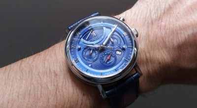 Nicolas & Manfred watches blue
