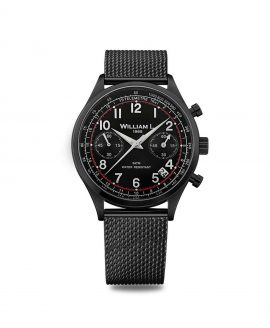 William L. 1985 - Chronographs - Vintage Chronograph - Black/Black-Mesh