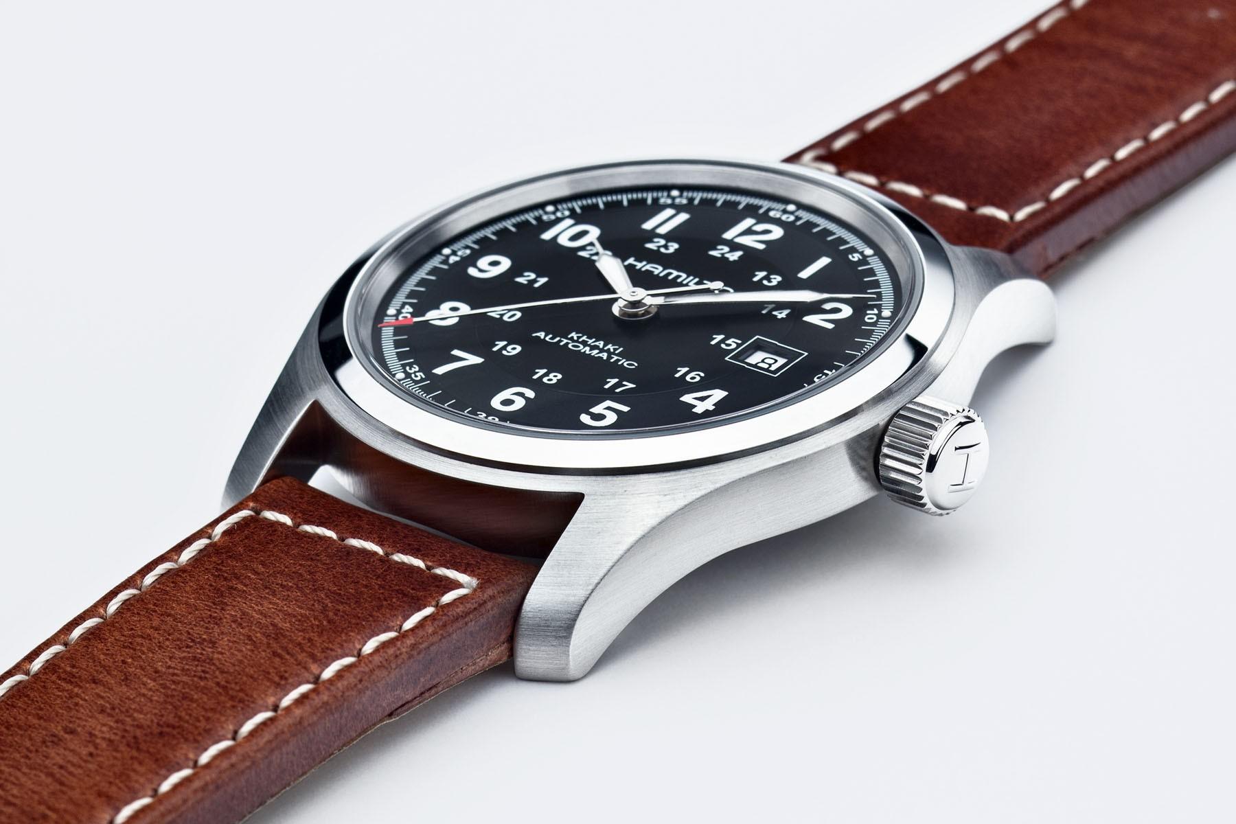 The New Hamilton Khaki Field Mechanical Watch Watchbandit