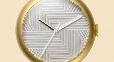 objest watch matte gold