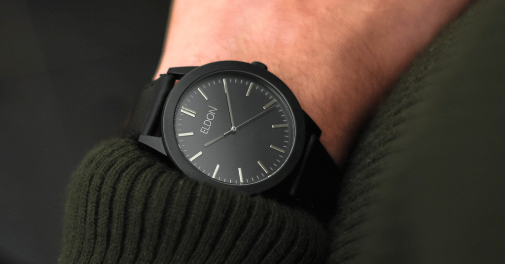 3e8a4603fb4 Eldon Watches – Now with a sleeker and more minimalistic design