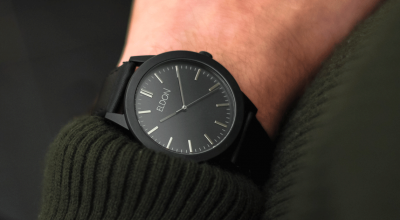 Eldon watches slimline black