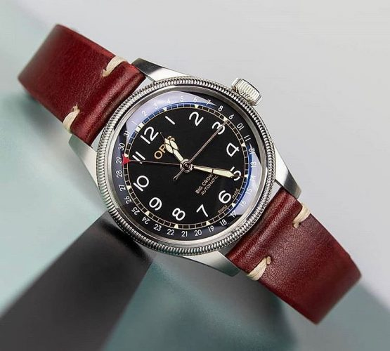 oris big crown pointer date WatchBandit vintage watch strap by orisfanboy