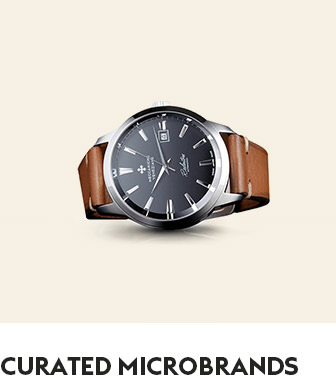 Curated Microbrand Watches