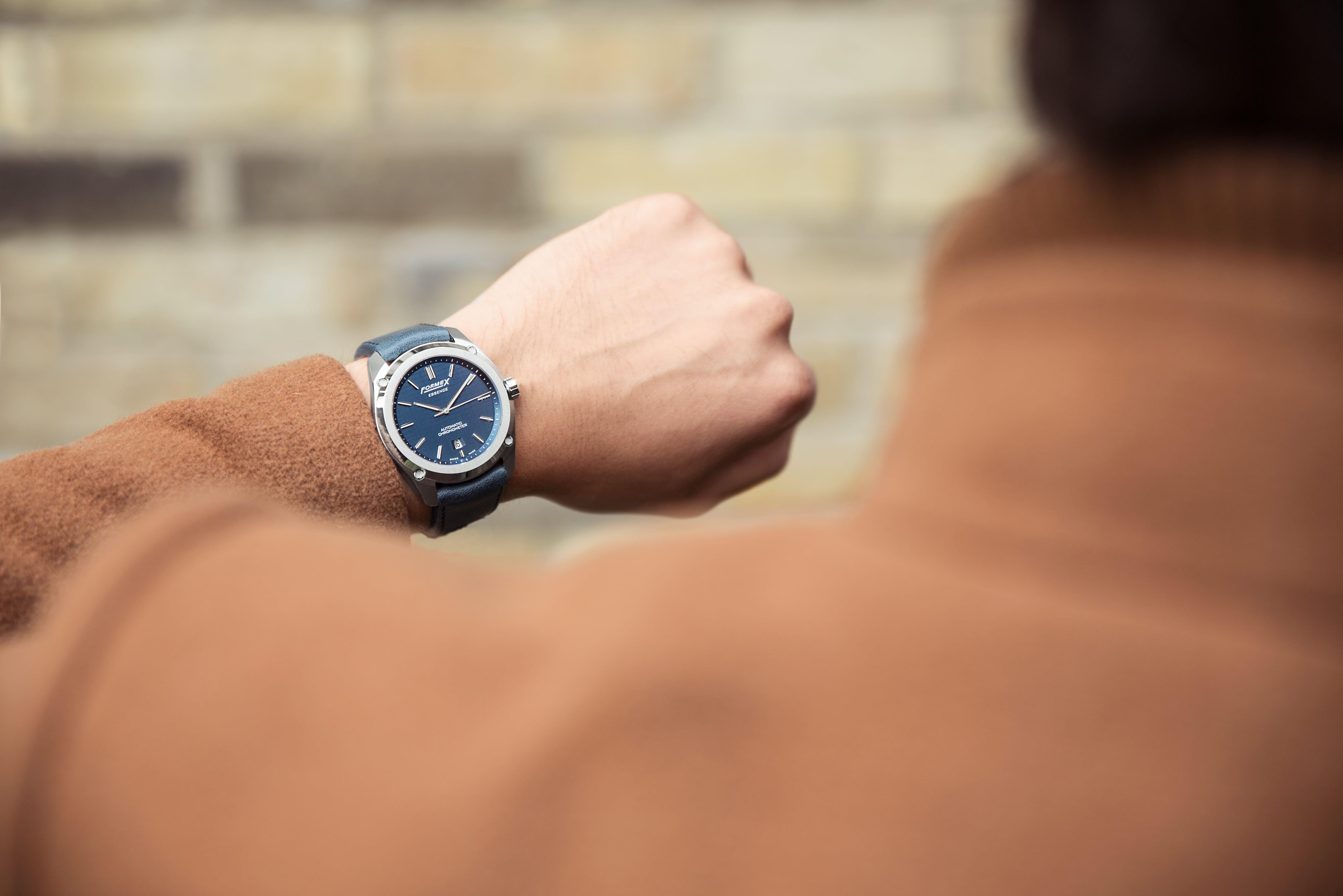 Formex Essence Automatic Chronometer blue 2