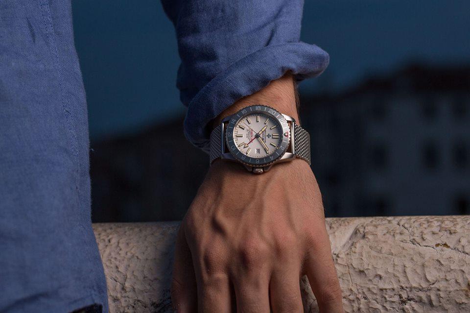 Meccaniche Veneziane Nereide GMT Basalto