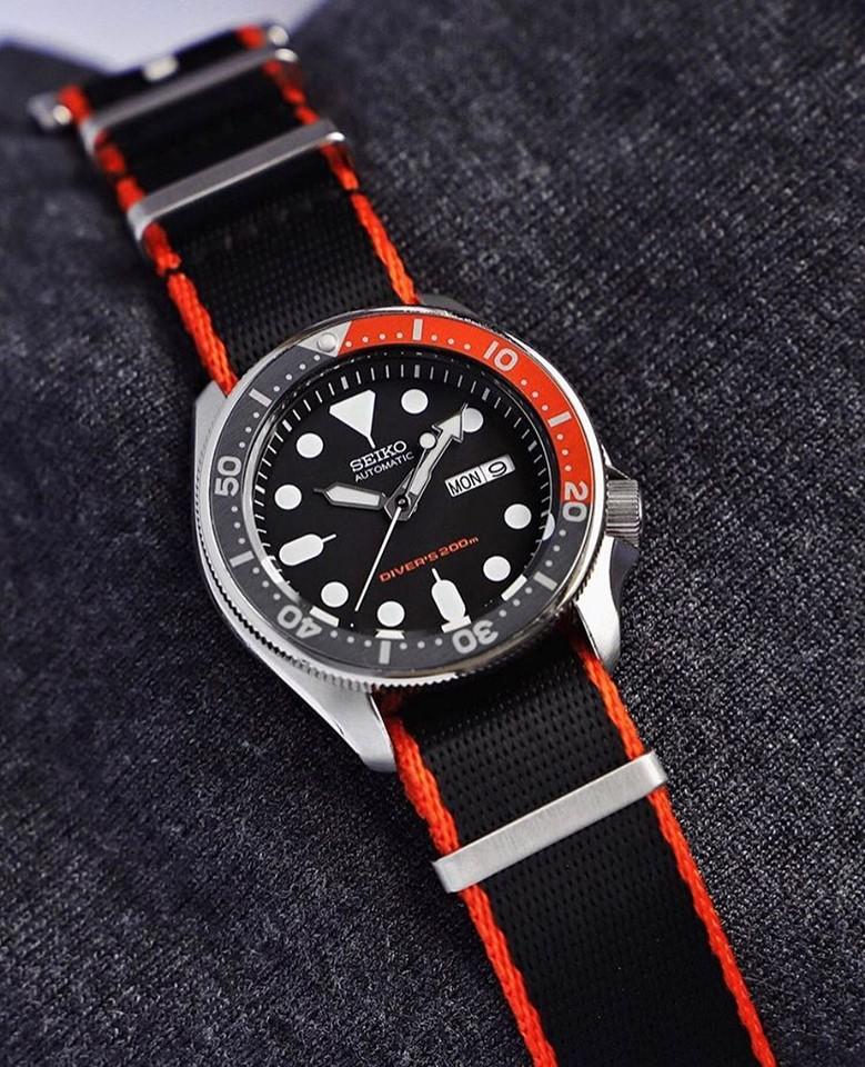 seiko diver watchbandit nato strap by watch.neirda