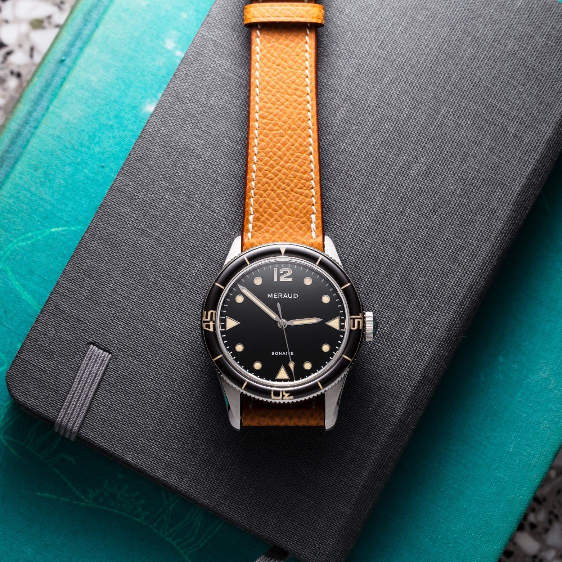 Méraud Watch Co. black