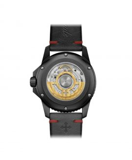 WatchBandit Meccaniche Veneziane GMT NEREIDE GMT DIASPRO PVD back