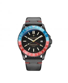 WatchBandit Meccaniche Veneziane GMT NEREIDE GMT DIASPRO PVD front