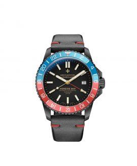WatchBandit Meccaniche Veneziane GMT NEREIDE GMT DIASPRO PVD front