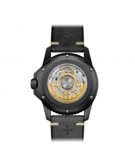 WatchBandit Meccaniche Veneziane GMT NEREIDE GMT SAN MARCO PVD back