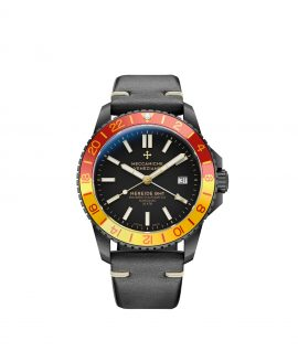 WatchBandit Meccaniche Veneziane GMT NEREIDE GMT SAN MARCO PVD front