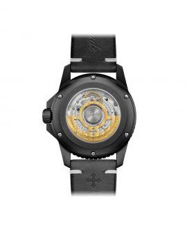 WatchBandit Meccaniche Veneziane GMT nereide gmt ardesia pvd back