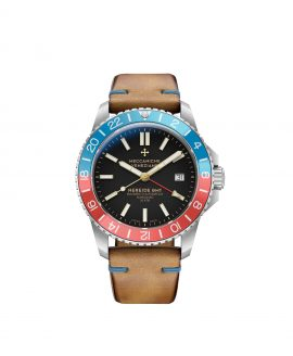WatchBandit Meccaniche Veneziane NEREIDE GMT DIASPRO CLASSICO front