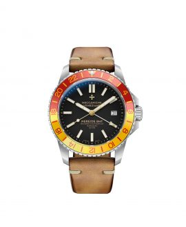 WatchBandit Meccaniche Veneziane NEREIDE GMT SAN MARCO front