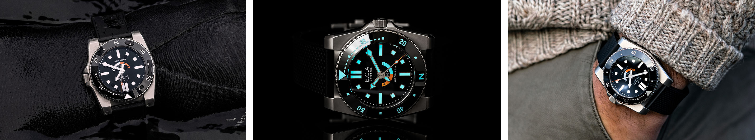 E.C.Andersson Dive Watch Banner