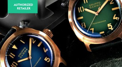 Gruppo Gamma Peacemaker header WatchBandit