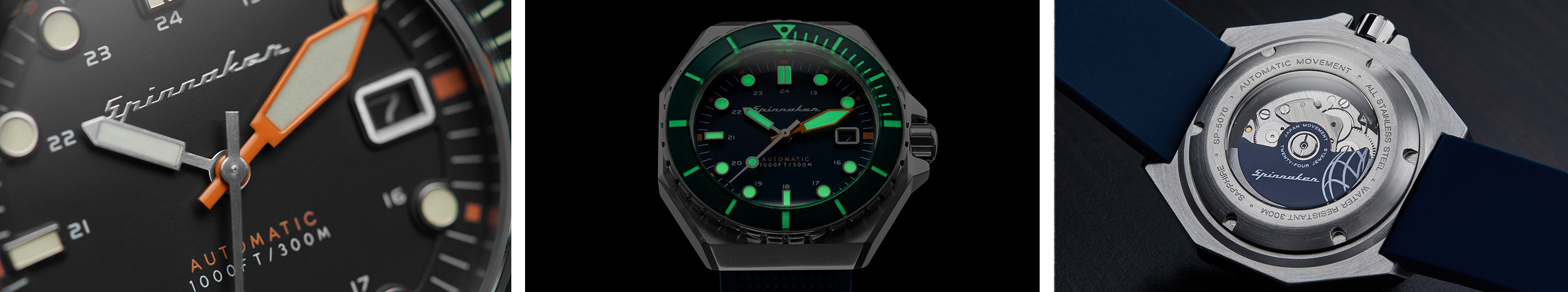 Spinnaker Dumas Collection Lume Movement Watchandit Banner