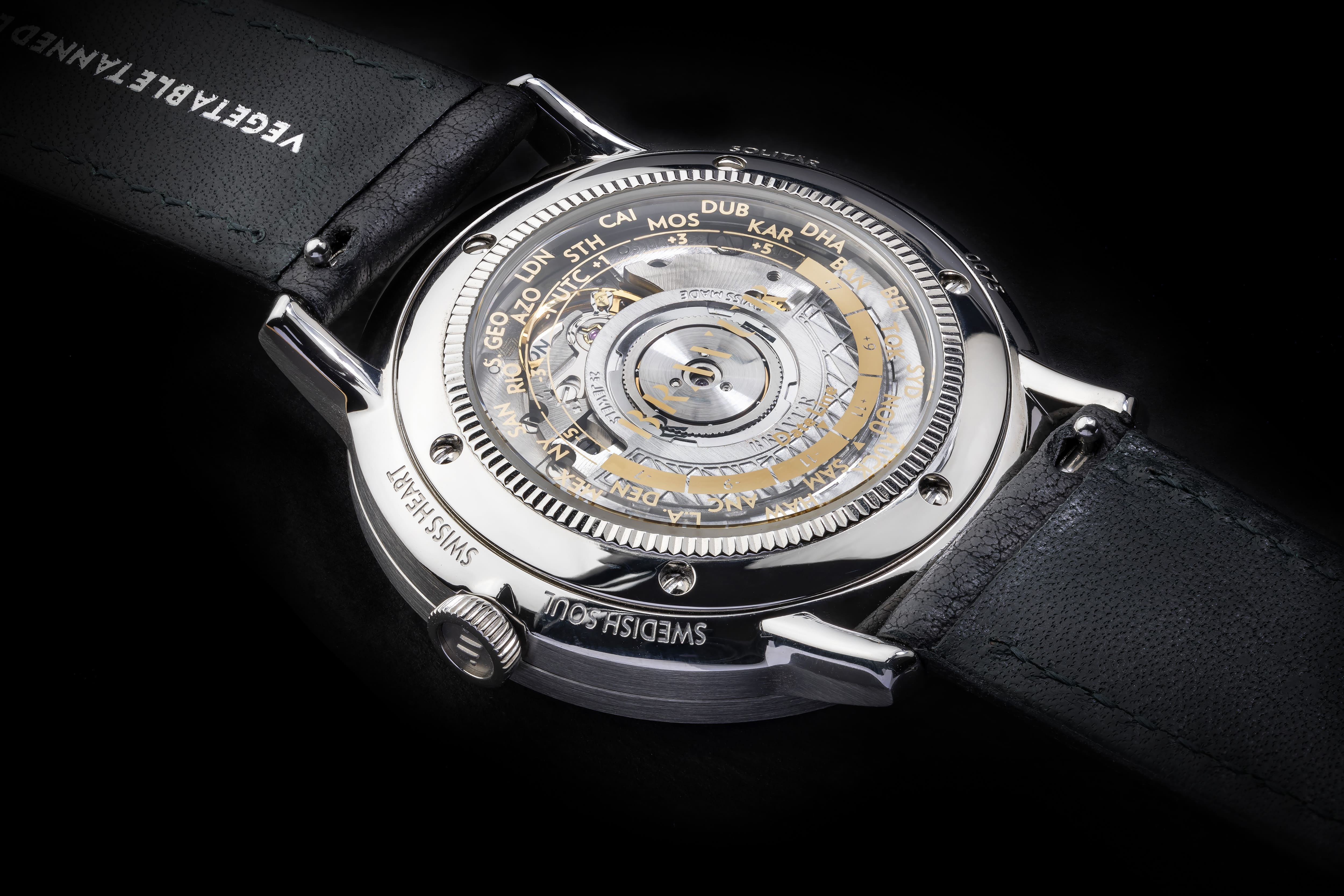 bravur watches movement