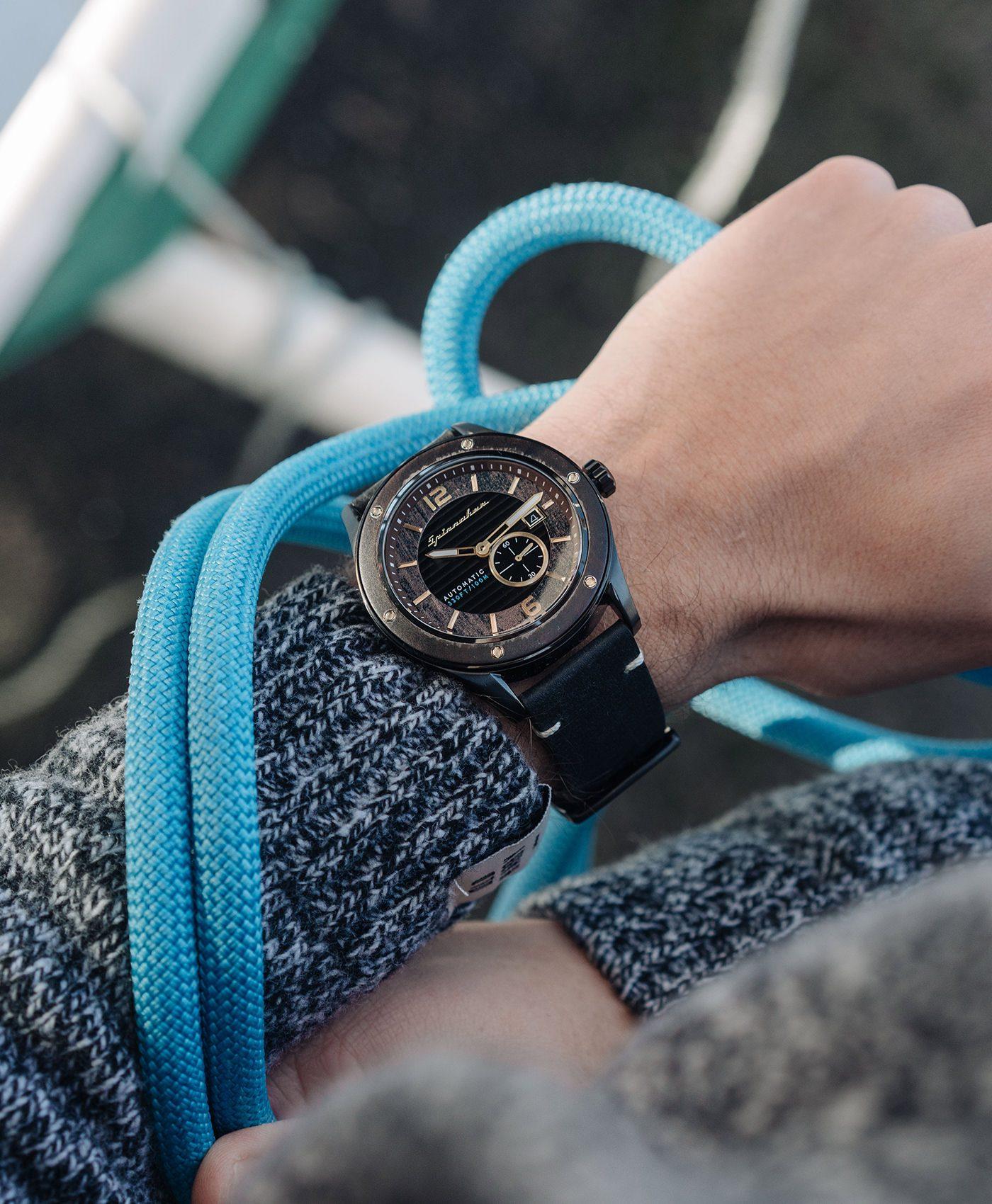 Spinnaker Sorrento Watch wrist shot sailing