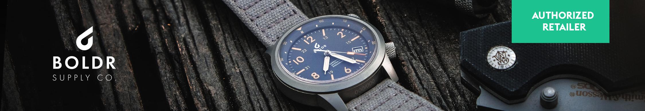 Autorisierter Händler für Boldr Uhren