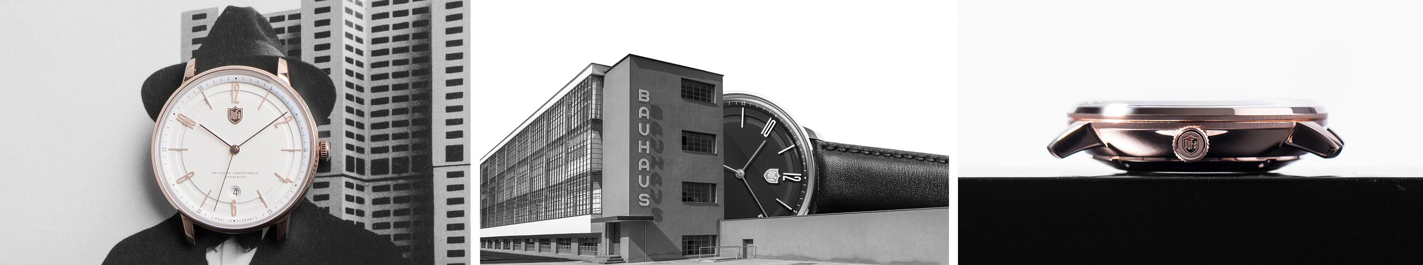DuFa Bauhaus design watches inspiration