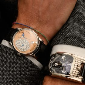 F. P. Journe Octa Lune Octa Lune Automatic 18k Rose Gold and UhrwerkUrwerk UR-103T 18k White Gold