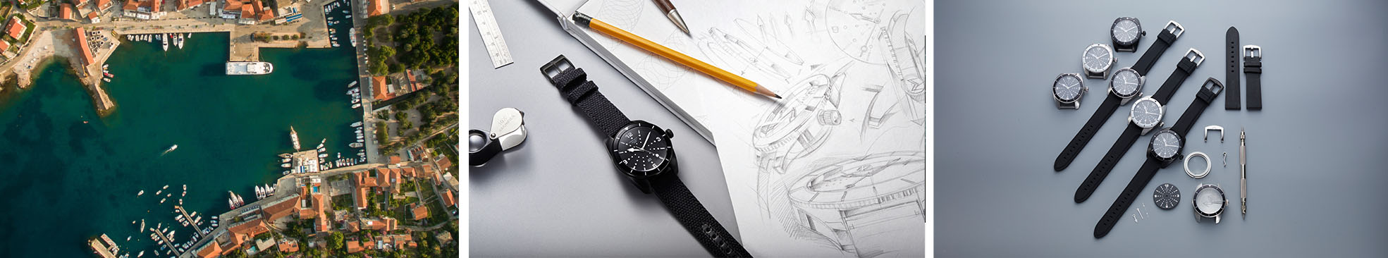 About Marnaut watches design process