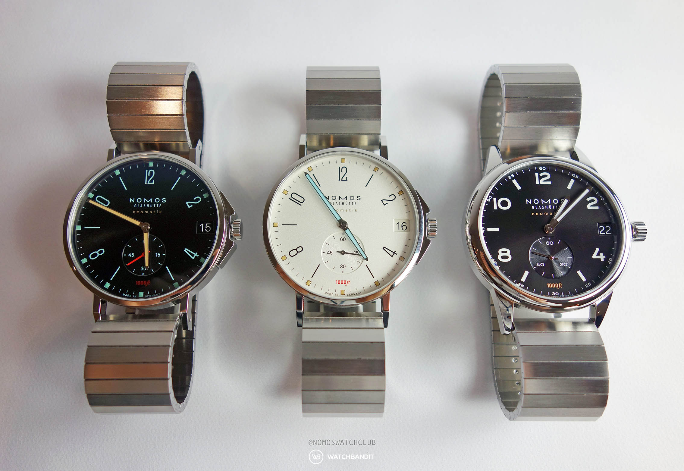 NOMOS Tangente Sport Neomatik 42 Date and Club Sport Neomatik 42 Date Baselworld 2019