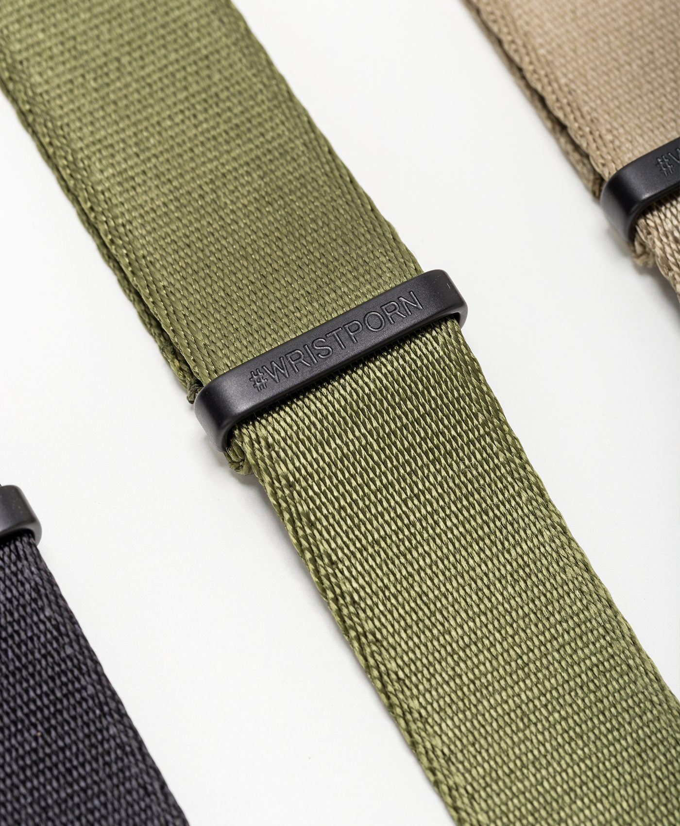 Watchbandit WB original Wristporn Nato straps bundle close up