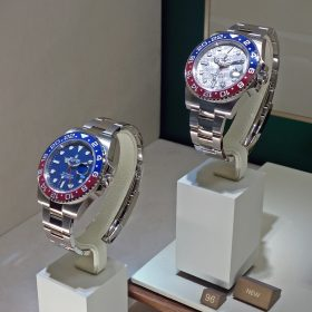 Rolex GMT Master II 126719BLRO Meteoride dial and 126719BLRO Baselworld 2019